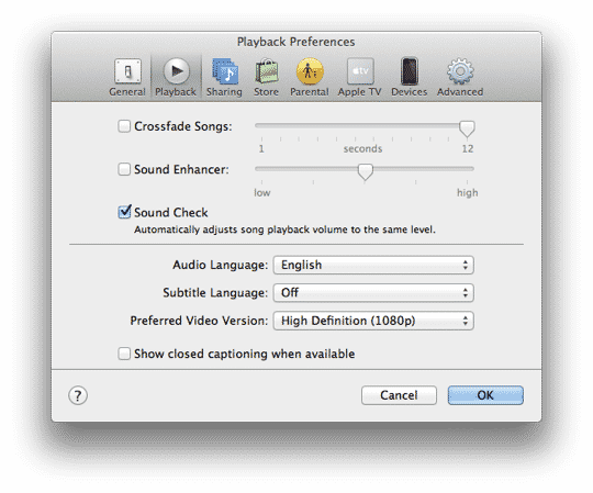 Normalizing volume levels for Voice Memos