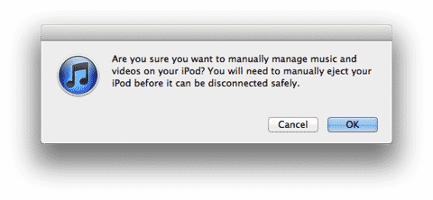 Removing music from iTunes after copying to iPod