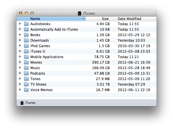 Migrating iTunes library between Windows and Mac OS X