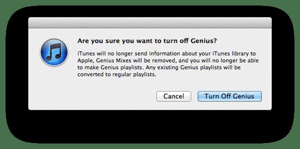 iTunes Genius not creating Playlists