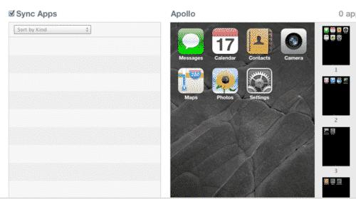 Restoring Apps and App folder layouts