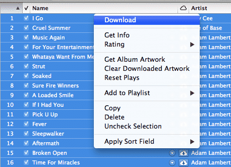 Subscribing to iTunes Match with an iPhone music library