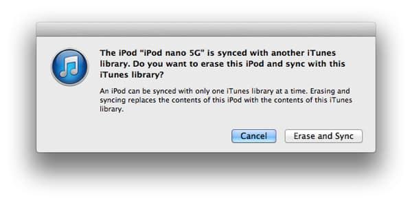 Recreating a lost iTunes library from existing media content