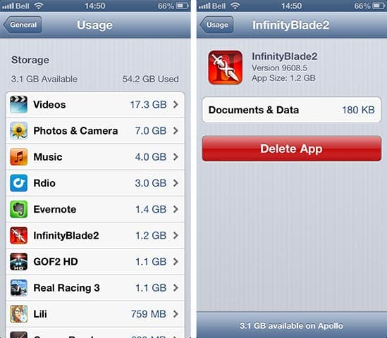Transferring Apps to a new iPhone