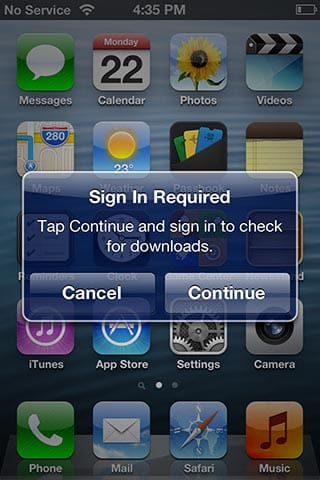 Removed iPhone still syncing with iTunes in the Cloud