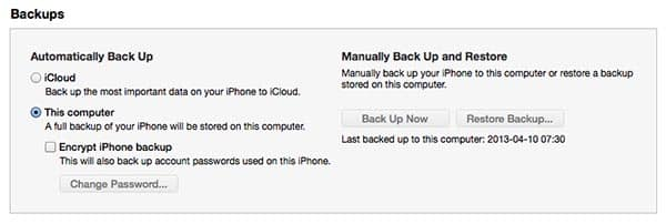 Remove old iCloud backup after restoring to a new iPhone