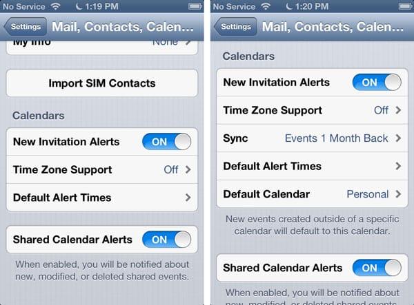 Cannot create new events in iOS Calendar
