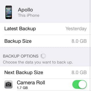 iOS 7: Find My iPhone only available on primary iCloud account