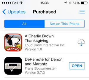 Deleting and reinstalling an iOS app