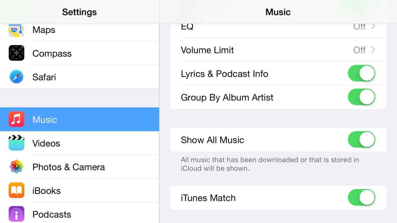 How do I find and remove only downloaded tracks with iTunes Match?
