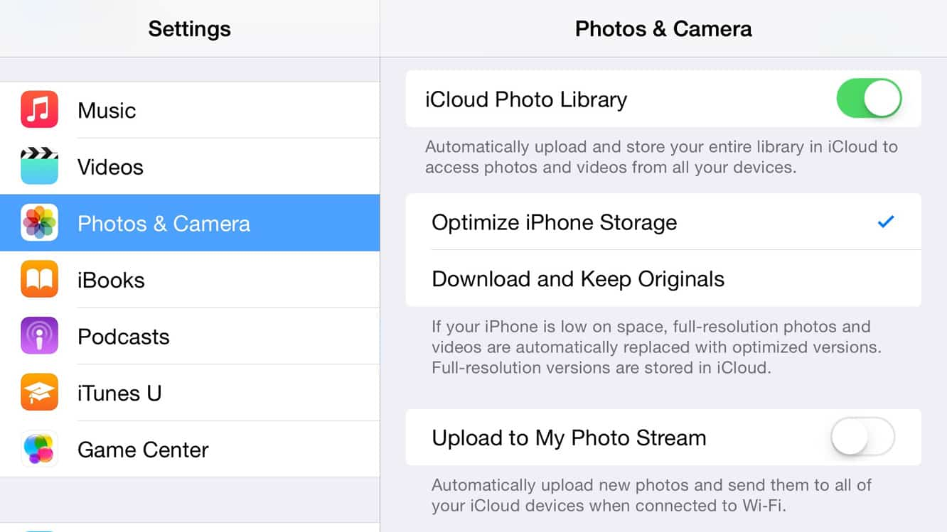 Is there a point to having both iCloud Photo Library and iCloud Photo Stream enabled?