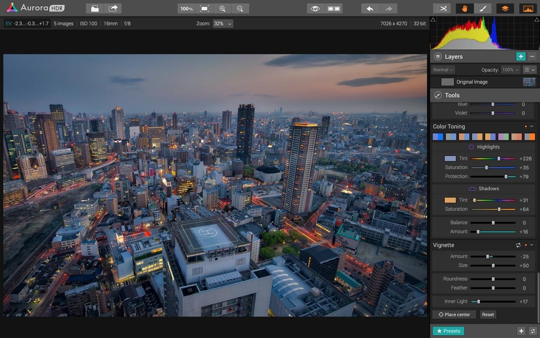 MacPhun Aurora HDR Pro