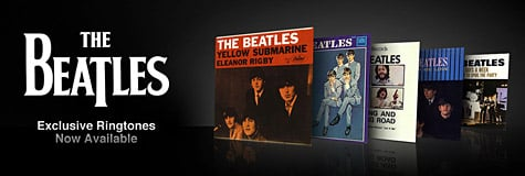 The Beatles ringtones launch on the iTunes Store