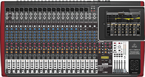 Behringer rolls out three iPad-docking mixers