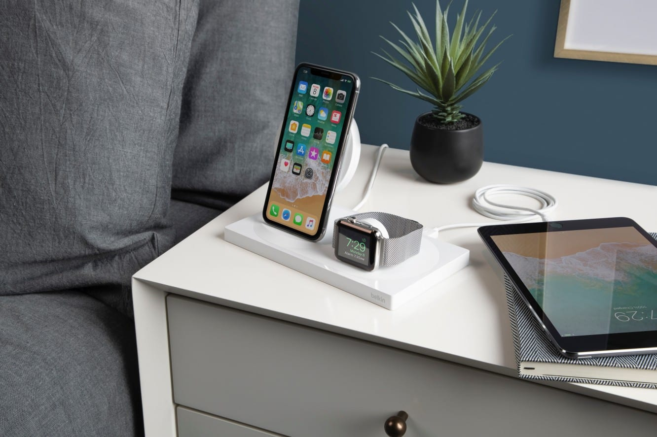 Belkin announces Boost Up Wireless Charging Dock for iPhone + Apple Watch