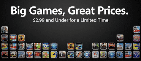 App Store holds Big Games, Great Prices sale on popular iOS games