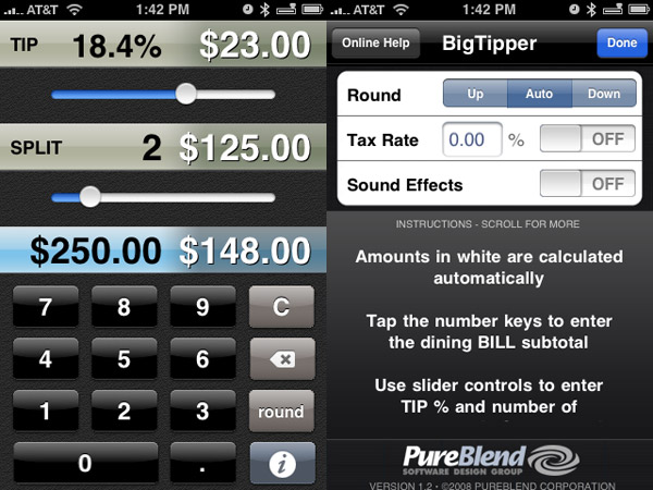 Review: BigTipper by PureBlend Software