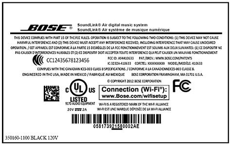 Bose SoundLink Air AirPlay speaker leaked by FCC