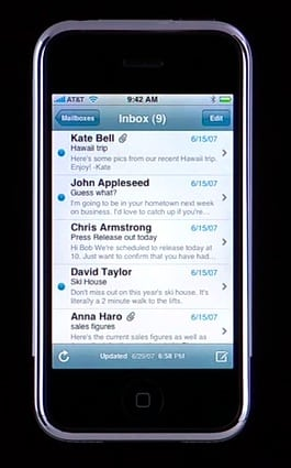 All Things iPhone: Interface and the 16 Applications