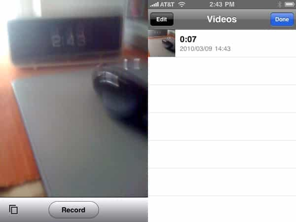 iPhone Gems: Video Recorders for Original iPhone + iPhone 3G
