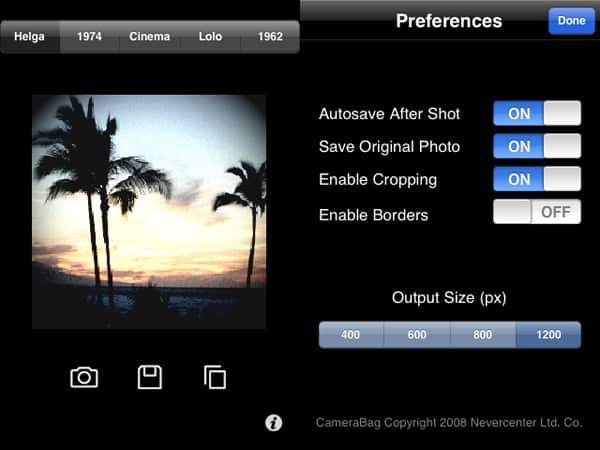 Review: CameraBag by Nevercenter Ltd.