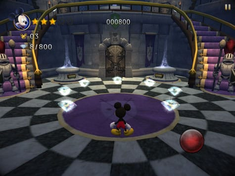 Apps: Castle of Illusion, Mickey Mouse Clubhouse, Procreate, Target