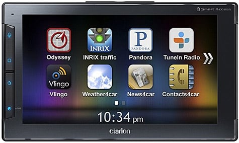 Clarion debuts Next Gate in-vehicle controller for iPhone