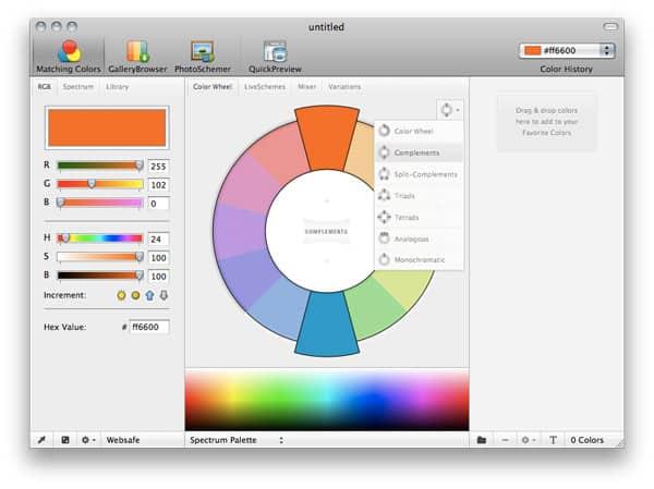 CHROMAom ColorSchemer Studio