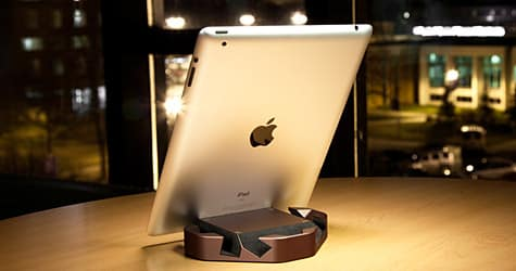 ColorWare debuts Wedge stand for iPad