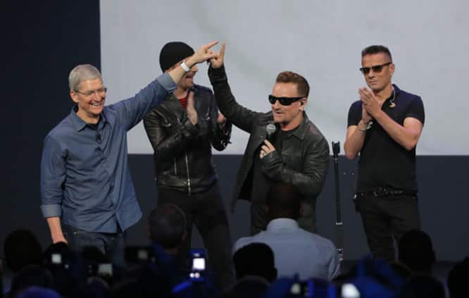 Apple and U2 to work together on music innovation