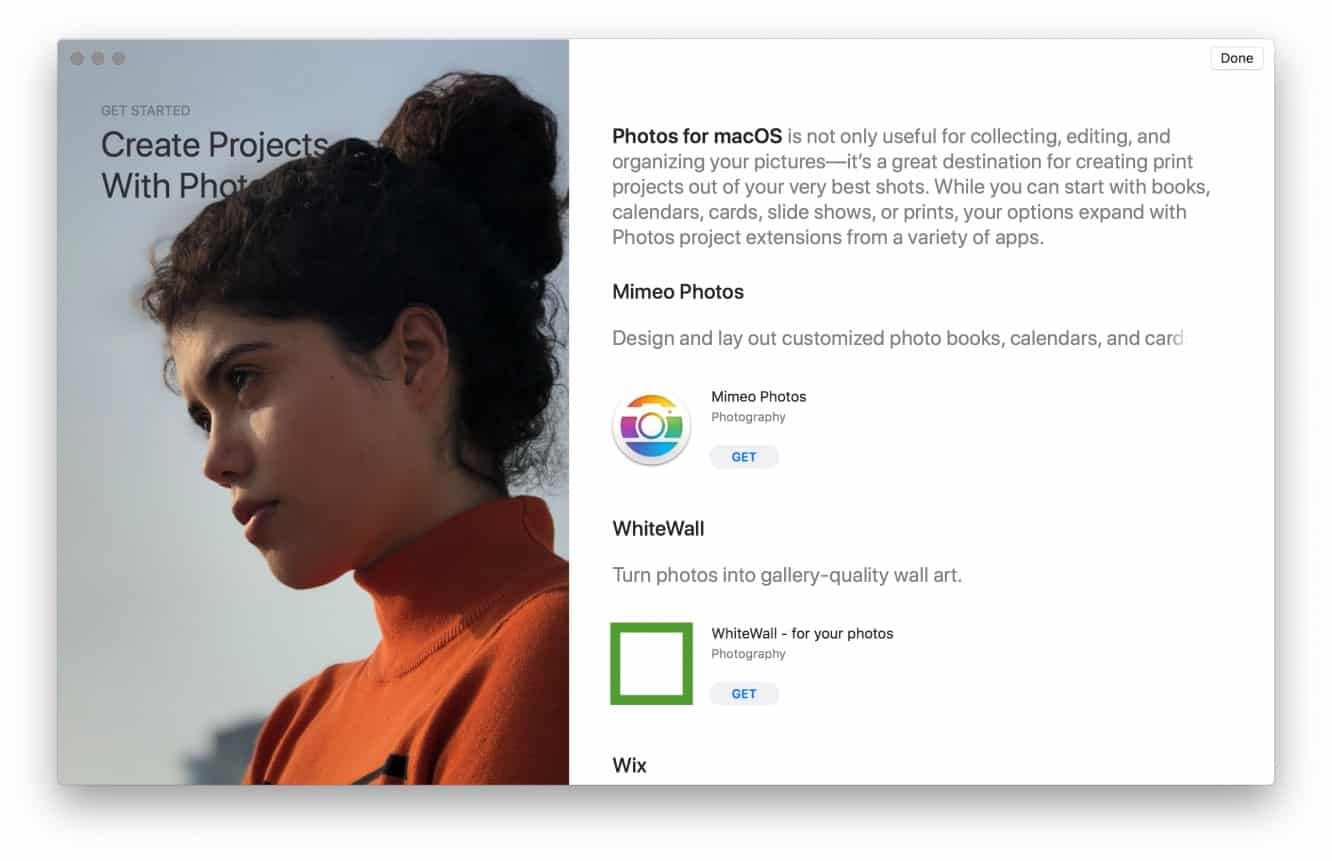 Apple axes photo printing service, points users to App Store Photos extensions