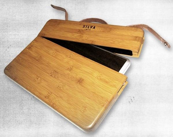 Silva Limited Custom Bamboo MacBook Case