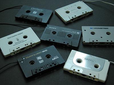 Review: Fall 2005 Cassette Tape Adapter Shootout
