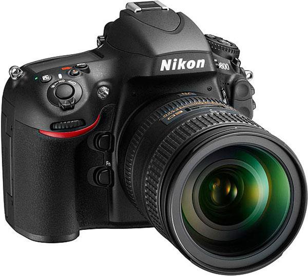 Nikon D800 + D800E