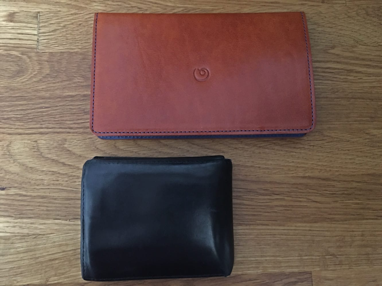 Danny P. Leather Wallet with iPhone 6 Plus Case