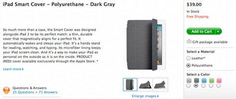 Apple updates iPad Smart Cover lineup
