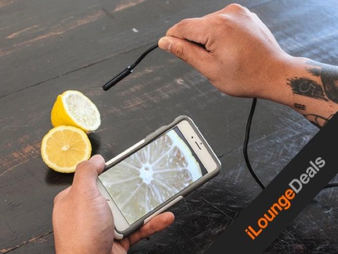 Daily Deal: 1080p HD Waterproof WiFi Wireless Endoscopic Camera