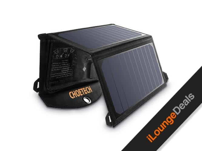 Daily Deal: CHOETECH 19W Solar Charger