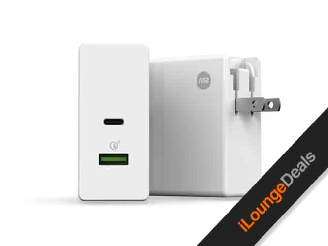 Daily Deal: M2 Square USB-C & Quick Charge 3.0 Charger