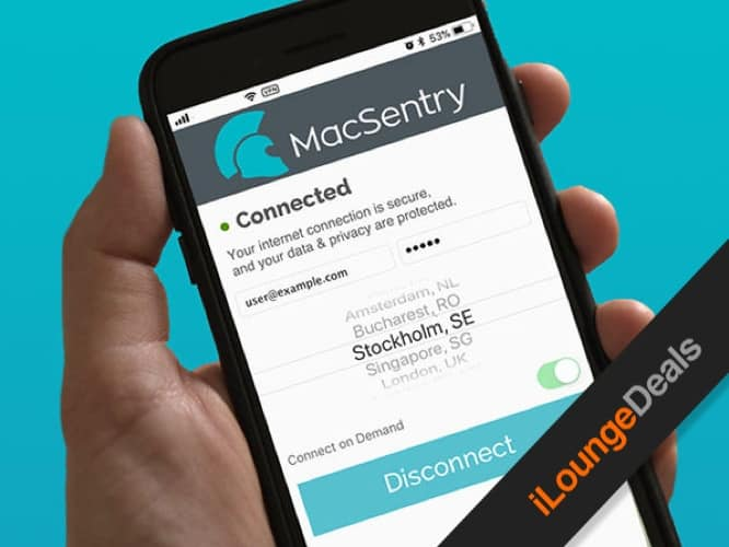 Daily Deal: MacSentry VPN, two-year subscription