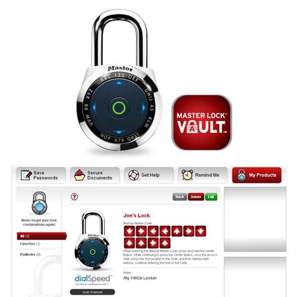 Master Lock dialSpeed 1500eDBX Electronic Combination Lock