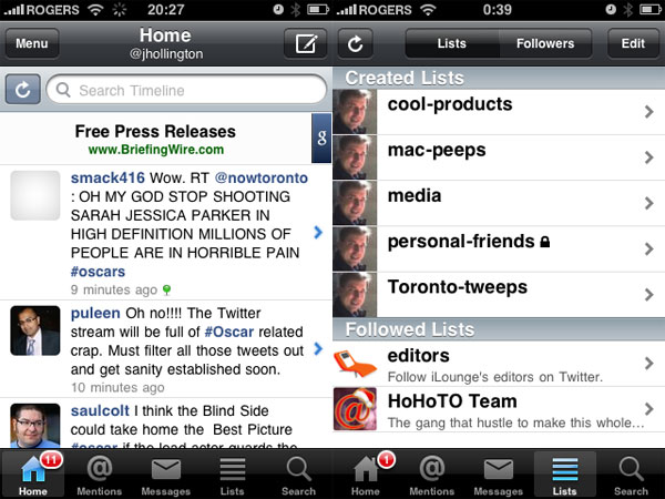 iPhone Gems: Top 12 Twitter Apps Reviewed