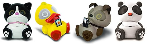 Electric Friends intros animal-themed speakers for iPhone, iPod