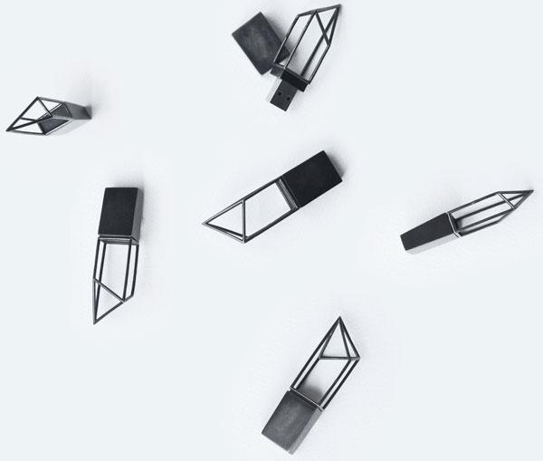 Logical Art Empty Memory USB Memory Sticks