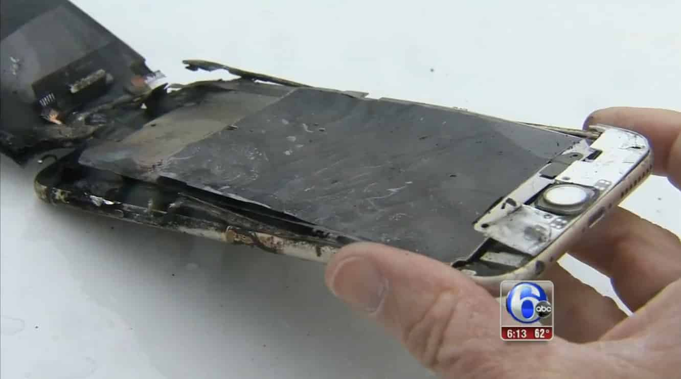 College student's iPhone 6 Plus reportedly ignites in his pocket