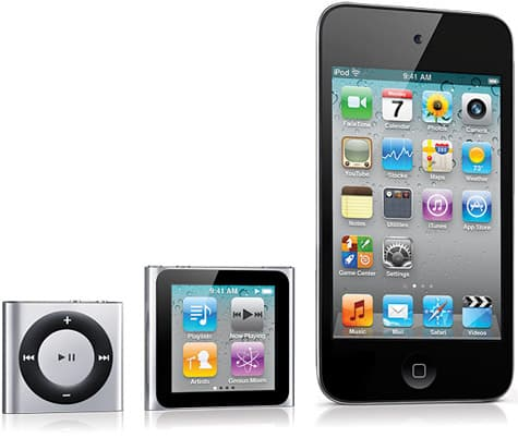 Gallery: Photos of 2010 iPods, Apple TV posted