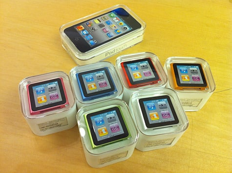 Fall 2010 iPod lineup now in stores