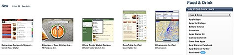 Apple adds Food & Drink category to App Store