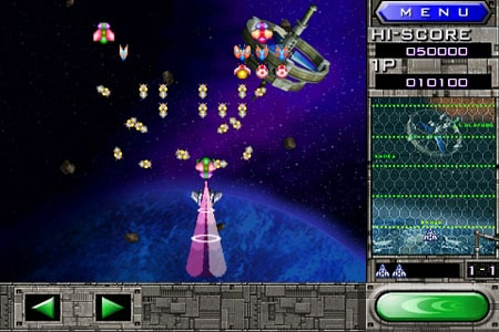 Namco releases Galaga Remix for iPhone, iPod touch