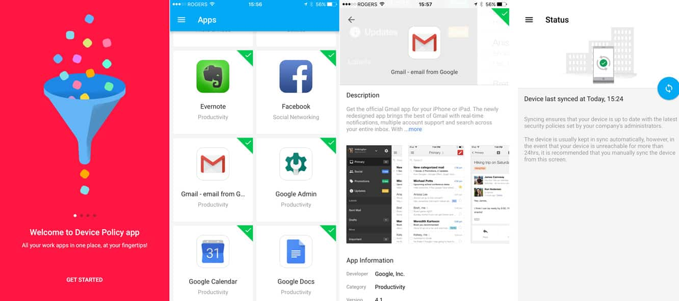 Google releases Mobile Application Management for iOS devices